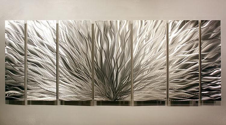 metal pintura pared Metal Moderno Arte Abstracto Pintura Al Óleo arte Escultura Decoración arte original 049