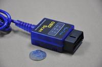 Wholesale Supports Obd Ii - mini elm327 usb mini elm 327 obd scan ELM327 VGATE OBD SCAN PC USB interface support all OBD-II obd2