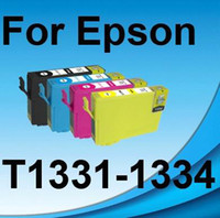 Wholesale T1334 Epson - 4 INK FOR Epson T1331-T1334 Stylus N11 NX125 NX420 TX120 TX123 TX125 TX129 TX320F T12 T22 T25 TX325F