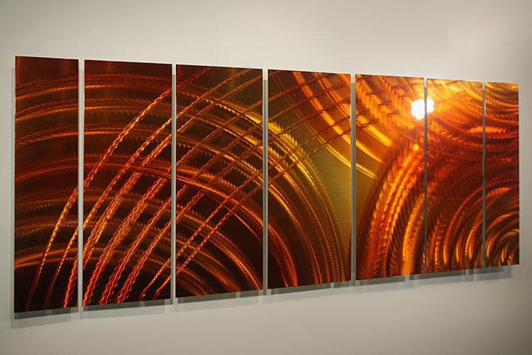 Ölgemälde Kunst Metall Gemälde Wand Wohnkultur Metall Moderne Abstrakte Kunst Original Kunst 091