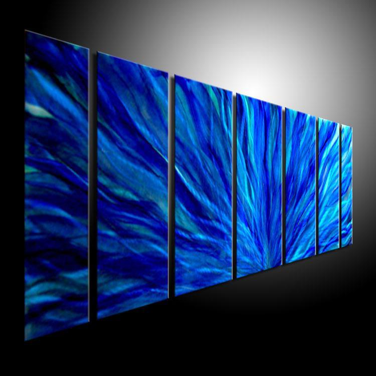 Compre Pintura Al Oleo Arte Pinturas De Metal Pared Hogar Decoracion