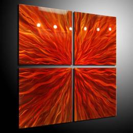 Pinturas a óleo originais modernas on-line-Pintura a óleo arte pinturas a óleo parede home Decor Metal Moderna Arte Abstrata Artes Originais 101