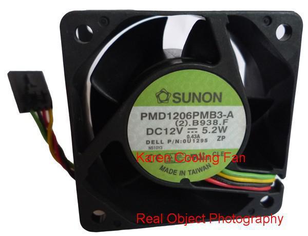 best selling SUNON 6038 12V 5.2W 0.43A PMD1206PMB3-A Cooling fan
