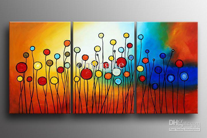 2018 Hand Painted Oil Wall Art Color Fruit Landscape Oil Paintings On Canvas  Mixorde Framed From Bestart, $26.14 | Dhgate.Com
