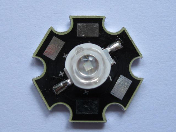 best selling High Power LED Lamp Blue Light 1 Watt 466nm 15-25LM 5 pcs per lot hot sale