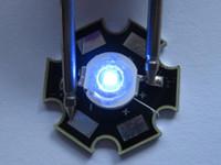 luces de 15 vatios led al por mayor-Lámpara LED de alta potencia de luz azul 1 vatio 466nm 15-25LM 20 piezas por lote venta caliente
