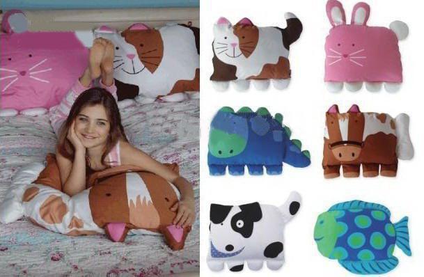 Doomagic Children Fashion Pillows Toddler Pet Bag Nursery
