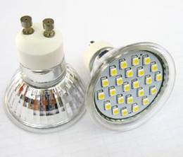 Wholesale Smd3528 E14 - 4W LED spotlights 60LEDs SMD3528 LED Bulbs MR16 E27 E14 GU10 Quartz lamp cup 85-265v DC12V CE ROHS