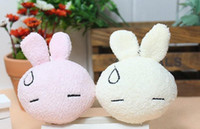 Wholesale Teddy Smiling - wholesale+free shipping new soft mini plush toys stuffed small unique toy squinting smile rabbit ani