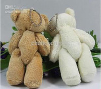 Wholesale valentines day bears - Free shipping,Good quality- little bear toy plush toy valentine day gift Children gift ornaments