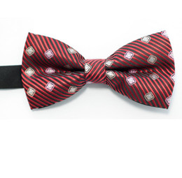Knitted Bowties UK - POLYESTER mens tie knots bow ties neck ties necktie shirt tie mens ties bowtie bowties mixed colors