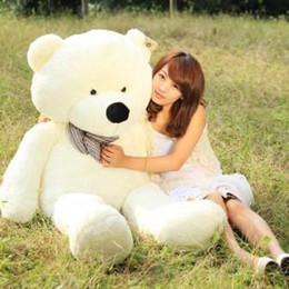 "Wholesale Huge Stuffed Teddy Bears - Wholesale - 47"" Giant Huge milky plush teddy bears Holiday Gifts Christmas Stuffed Plush Toys"