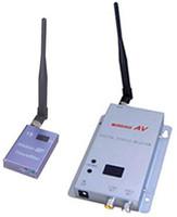 sistema de vigilancia de canales al por mayor-1.2G transmisor y receptor inalámbricos av de 15 canales 700mW para sistema de vigilancia inalámbrico