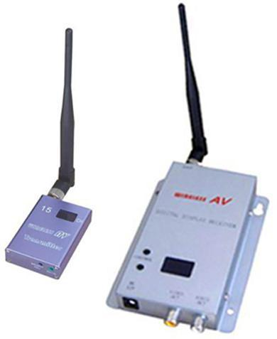 1.2G 15 قنوات 700mW اللاسلكية الارسال والاستقبال لنظام المراقبة اللاسلكية