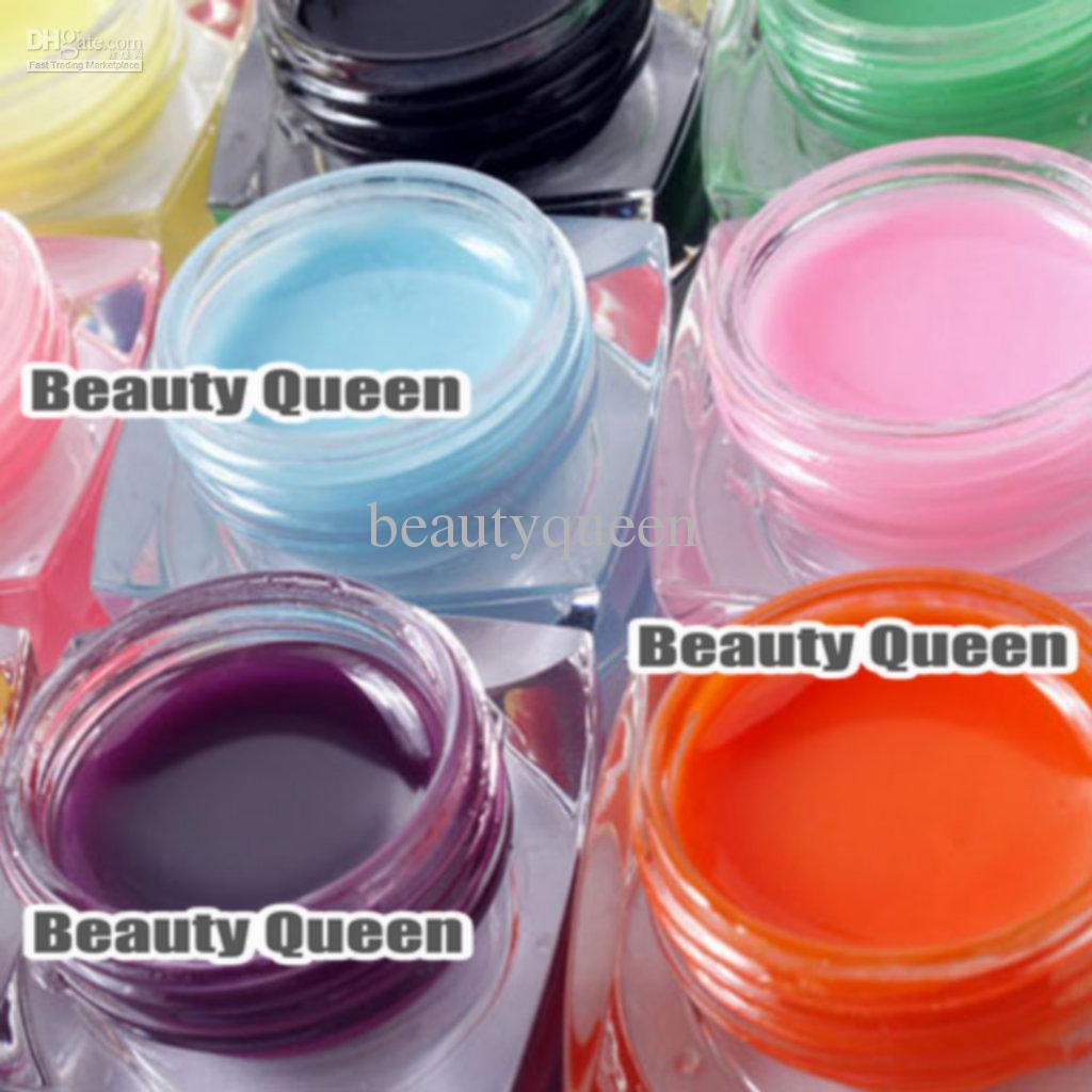 8ml Mix Pure Colors UV Builder Gel kit set for Nail Art Salon * *