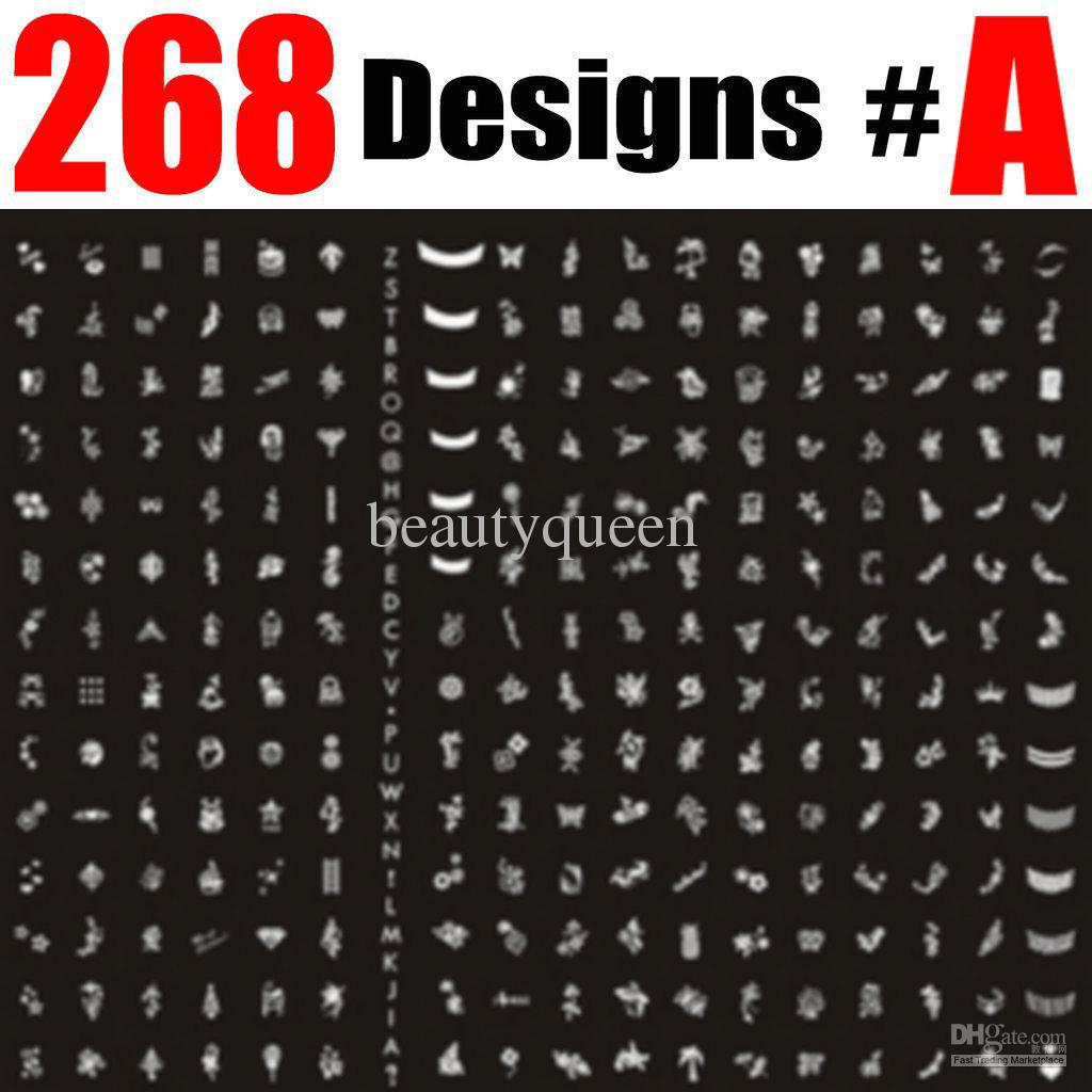 268 designs large nail stamp plate nail art stamping image plate 268 designs large nail stamp plate nail art stamping image plate print template metal stencil diy a nail art games nail art supplies from beautyqueen prinsesfo Images