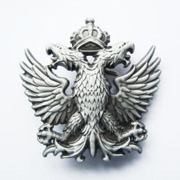 Wholesale Original Eagle - New Original Classic Russia Empire Crown Double-Headed Eagle Belt Buckle Gurtelschnalle Boucle de ceinture BUCKLE-WT041 Brand New Free Ship