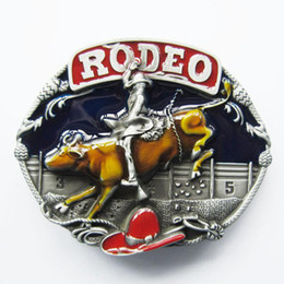 Discount digital race car - Belt Buckle (Western Rodeo Race Cowboy Belt Buckle) Free Shipping Contact Us for Wholesale Details