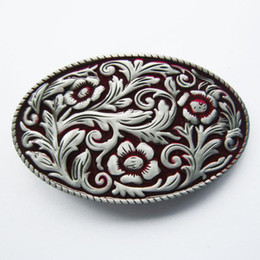 $enCountryForm.capitalKeyWord Australia - Belt Buckle (Red Western Cowgirl Flower Vintage) Belt Buckle Free Shipping Contact Us for Wholesale Details BUCKLE-WT097RD