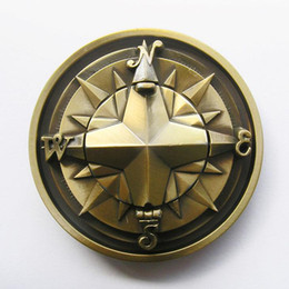 $enCountryForm.capitalKeyWord Canada - Wholesale Retail Belt Buckle (Bronze 3D Compass) Free Shipping