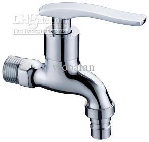 2019 Water Faucet Brass Chrome Bibcock Washing Machine Tap