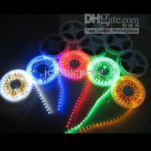 SMD 3528 светодиодные гибкие полосы света Лента свет 5 м 300 LED 12V не водонепроницаемый теплый белый холодный белый красный желтый синий зеленый