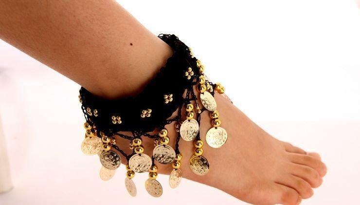 accessoires de danse du ventre, bijoux de danse du ventre, super pas cher, cheville en mousseline de soie P02, livraison gratuite