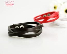 Wholesale Leather Wrap Friendship - Friendship Bracelet 30pcs lot leather string bracelet charm bracelet jewelry bracelet wrap bracelet bracelet