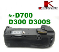 Wholesale camera battery grip - Meike Battery Grip Multi-Power Pack For Nikon Camera D700 D300 D300s Vertical Shooting