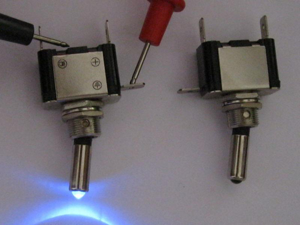 Toggle Switch with Blue LED Fog Light NEW 10 pcs per lot hot sale