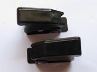 kippschalter großhandel-Schwarz Opaque Sicherheits-Schlag-Abdeckung für Kippschalter 10 PC pro Los heißen Verkauf
