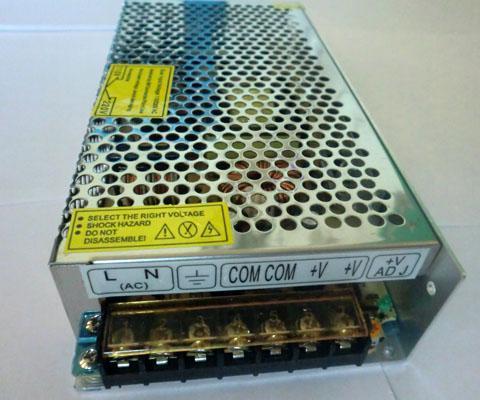 12VDC genügend 10A 120W Schaltnetzteil für SMD 5050 3528 3014 2835 LED-Streifen-Lichter 2 Jahre Garantie Freies Verschiffen durch Fedex