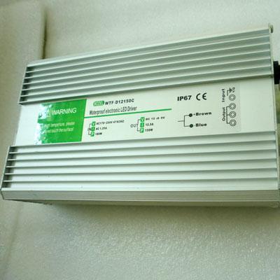 12V 12.5A 150W LED Transformer Impermeabile IP67 lampade a led a bassa tensione