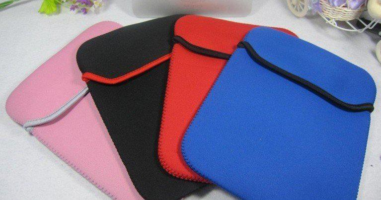 """Hot Tablet PC Bags 6-17 inch Neoprene Soft Sleeve Case Laptop Pouch Protective Bag for 7"""" 12"""" 13"""" 14"""" 17"""" Tablet Notebook"""