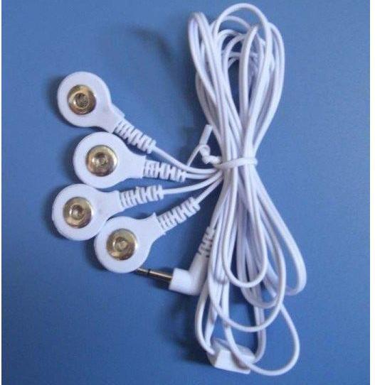 20 st av fyra fästelement - i en elektrodtråd för digitalterapi, elektrodtråd, blykabelkabel