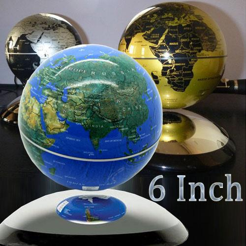 6 6 inch magnetic levitation world map globe revolving magnetic 6 6 inch magnetic levitation world map globe revolving magnetic floating global world electronics for sale cheap good deals on electronics from gumiabroncs Image collections