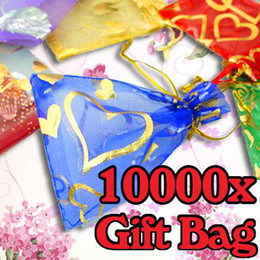 $enCountryForm.capitalKeyWord Canada - Wholesale 1000pcs   lot Organza Jewelry Wedding Party Gift Favor Bags Holders 7*9cm Shower Pouch Wedding Supplies #I007