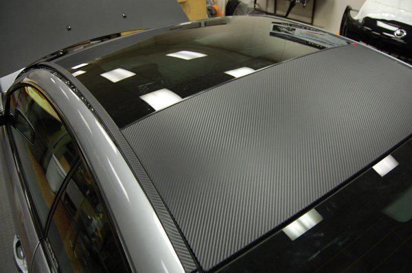 trasporto libero da Fedex più venduto in fibra di carbonio 3D dell'automobile della pellicola del vinile autoadesivo 1.27M * 30M Guarantee100%