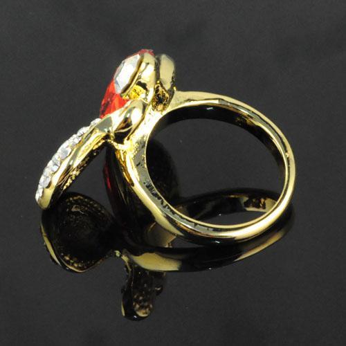 Ring Jewelry - Bague en diamant avec des bagues papillon RN-568
