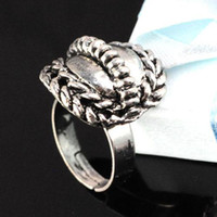 ingrosso gli anelli di whosale-Anelli Gioielli Whosale - 3 lotto lega in acciaio inox filatore anello gioielli, RN-558