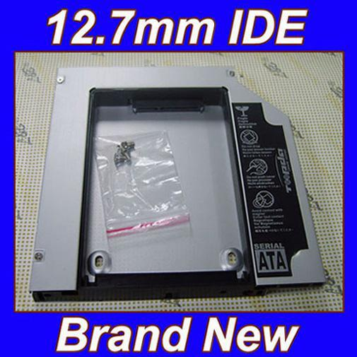 2nd Hard Drive HDD SSD Caddy Adapter for Dell Inspiron 700m 710m 9200 9300 9400