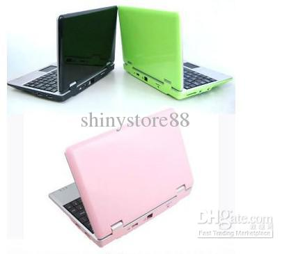 Q706 New 7 inch Android 4.0 VIA 8850 WM 8850 DDR3 512M RAM 4GB HDD HDMI WIFI RJ45 3G Mini laptop