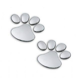 Footprints Stickers Canada - car body stickers Cool Bear footprints 3D stereo car sticker decals Auto decals