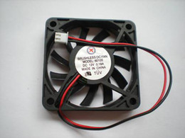 $enCountryForm.capitalKeyWord Canada - Brushless DC Cooling Fan 11 Blade 6010S 12V 60x10mm Black 2Wires 2 Pcs Per Lot Hot Sale