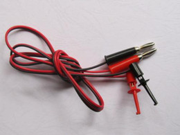 Wholesale Multimeter Set - Small Test Hook Clip to Banana Plug for Multimeter 6 set per lot Hot Sale