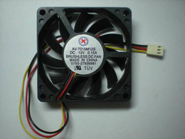 $enCountryForm.capitalKeyWord Canada - Brushless DC Cooling Fan 11 Blade 12V 7015mm 70x70x15mm 3Wires 10 Pcs Per Lot Hot Sale