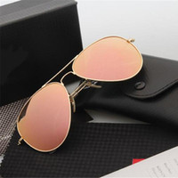 Wholesale 2016 Fashion UV400 Protection Men Women Sunglasses High Quality Brand Designer Sunglasses Vintage Classic Fishing Driving Eyewear With Box