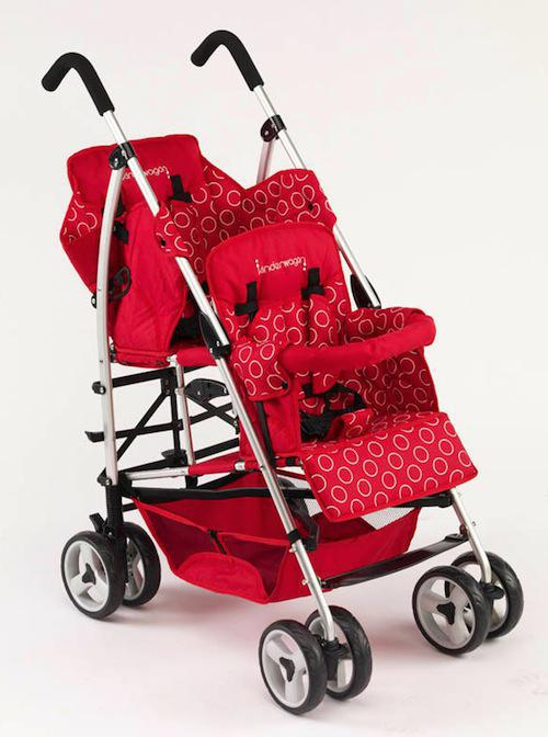 2017 Umbrella Double Stroller Lightweight Baby Pushchair Tandem ...