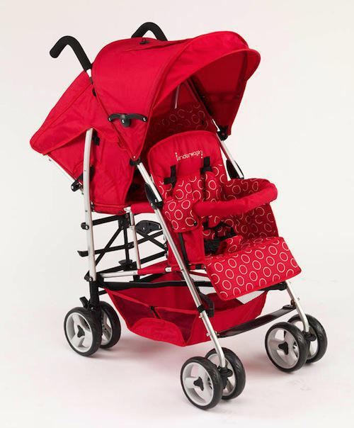 2017 Double Stroller Twins Pram Shockproof Baby Buggy,Black Double ...