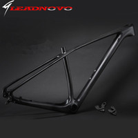Wholesale Carbon 29er Full - 2016 light design Mountain full Carbon bike frameset mtb full carbon bike frame 29er thru axle compatible free shipping